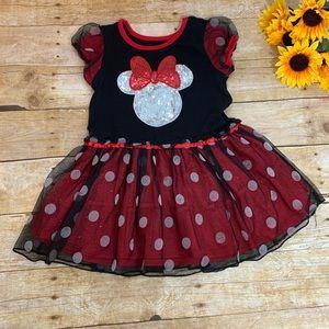 Minnie Mouse Dress. Girls size 6